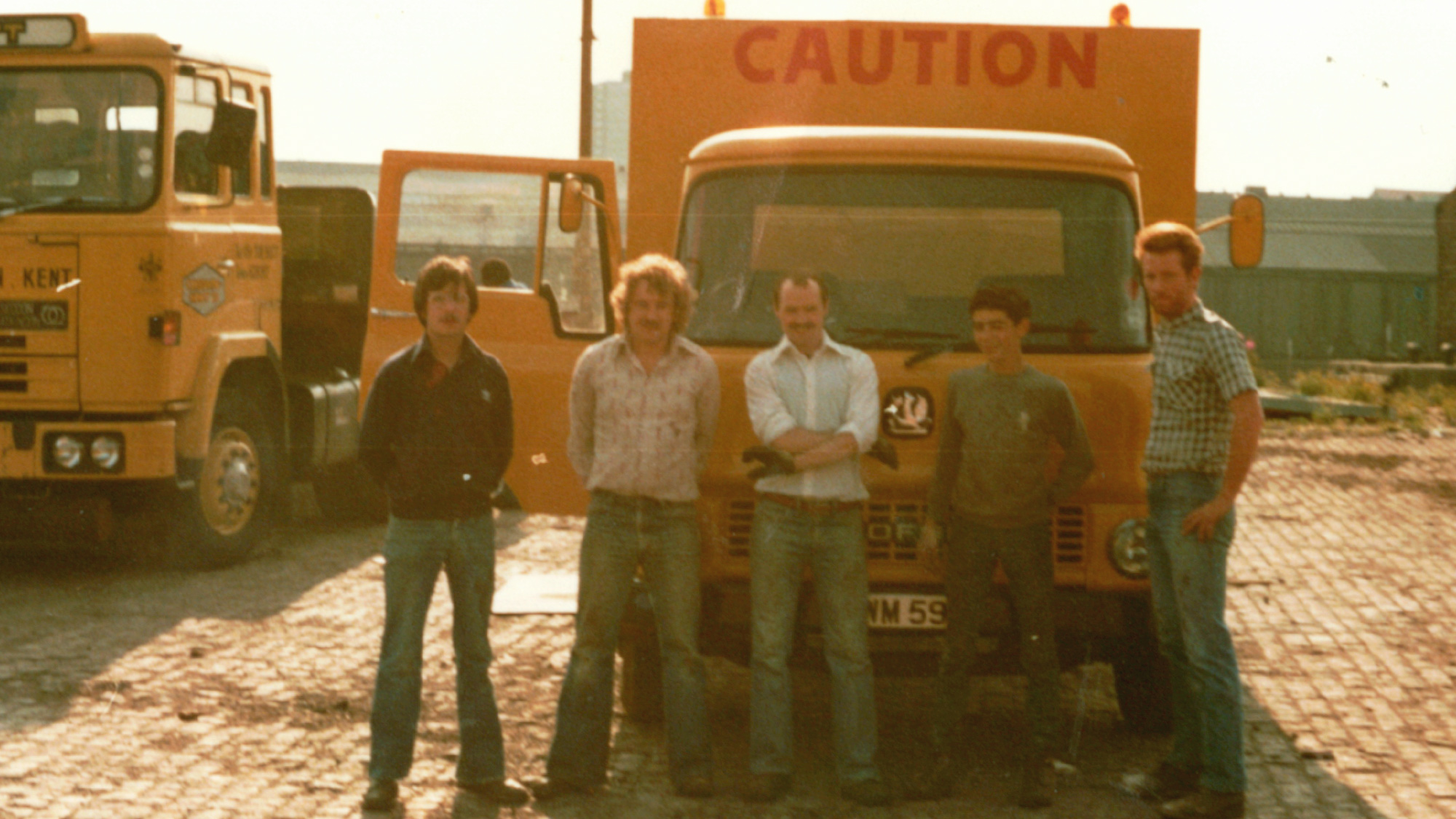 Hitex in 1980 | Road Marking History