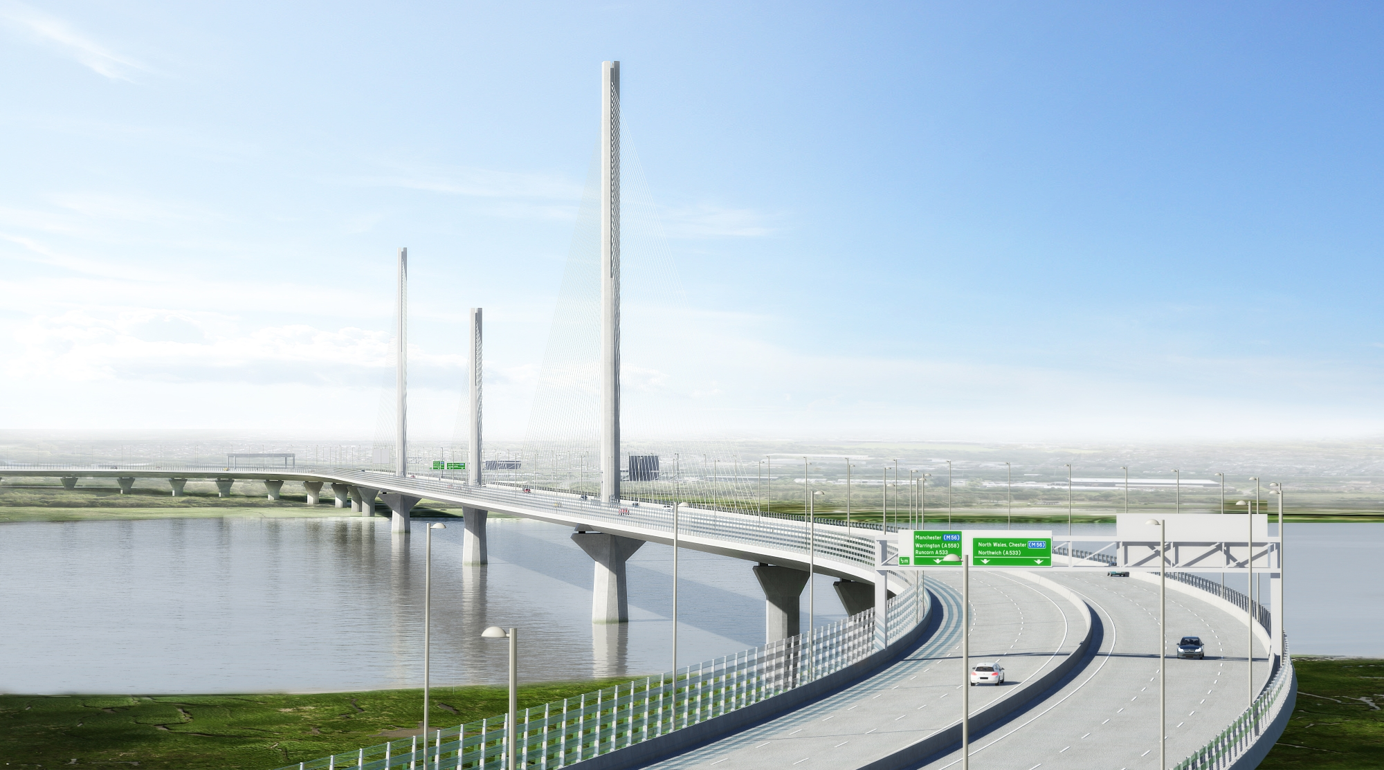 L&R Roadlines Awarded Major Road Markings Contract For Mersey Gateway Project