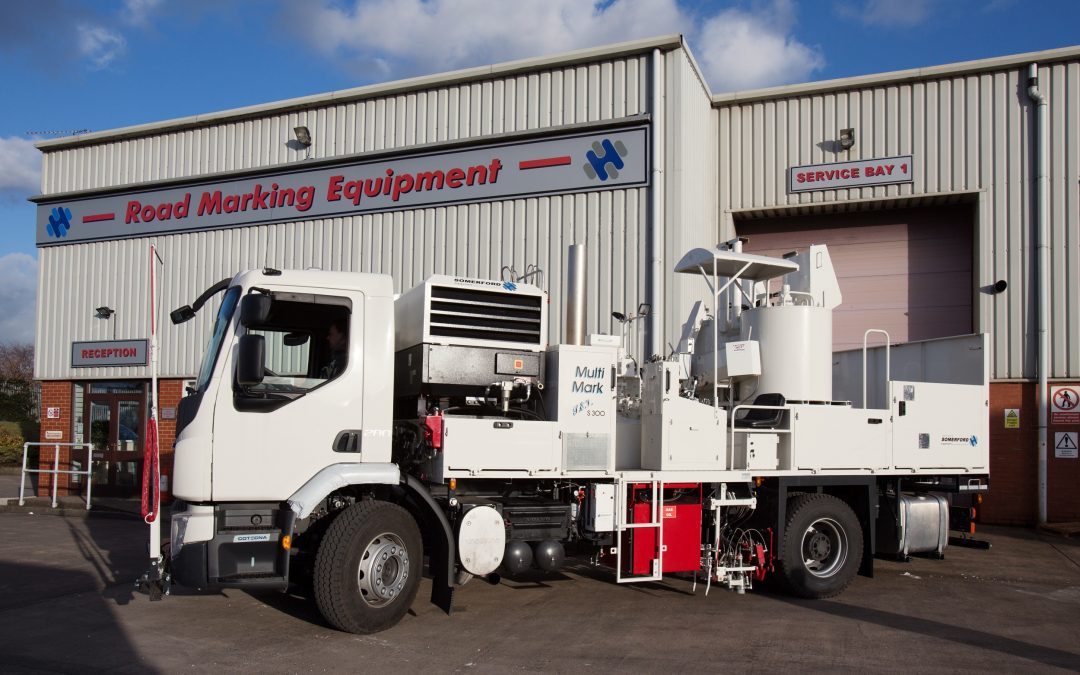 Somerford Equipment Supplies Bespoke Road Marking Vehicles To Iraq