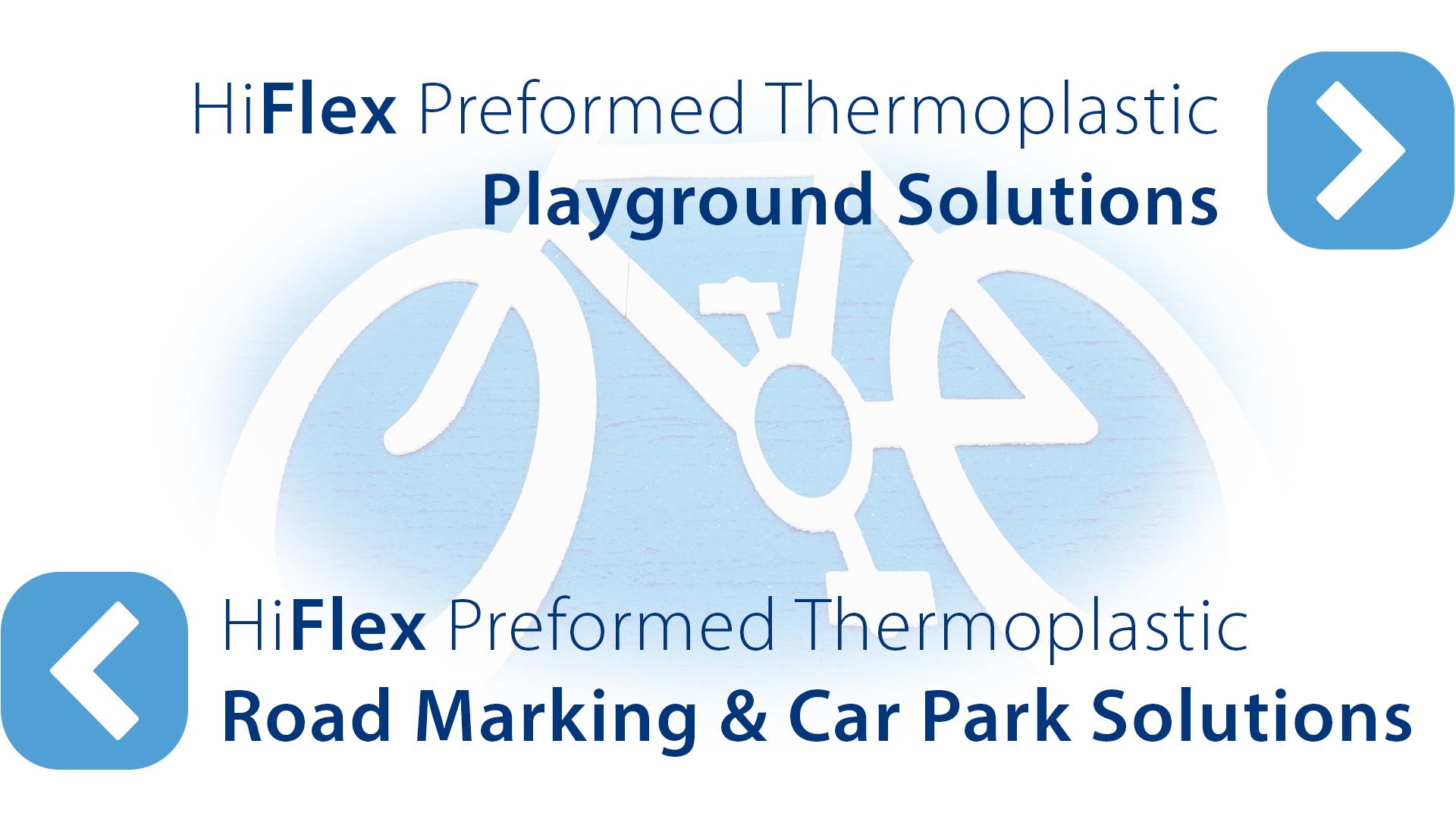 Preformed thermoplastic markings