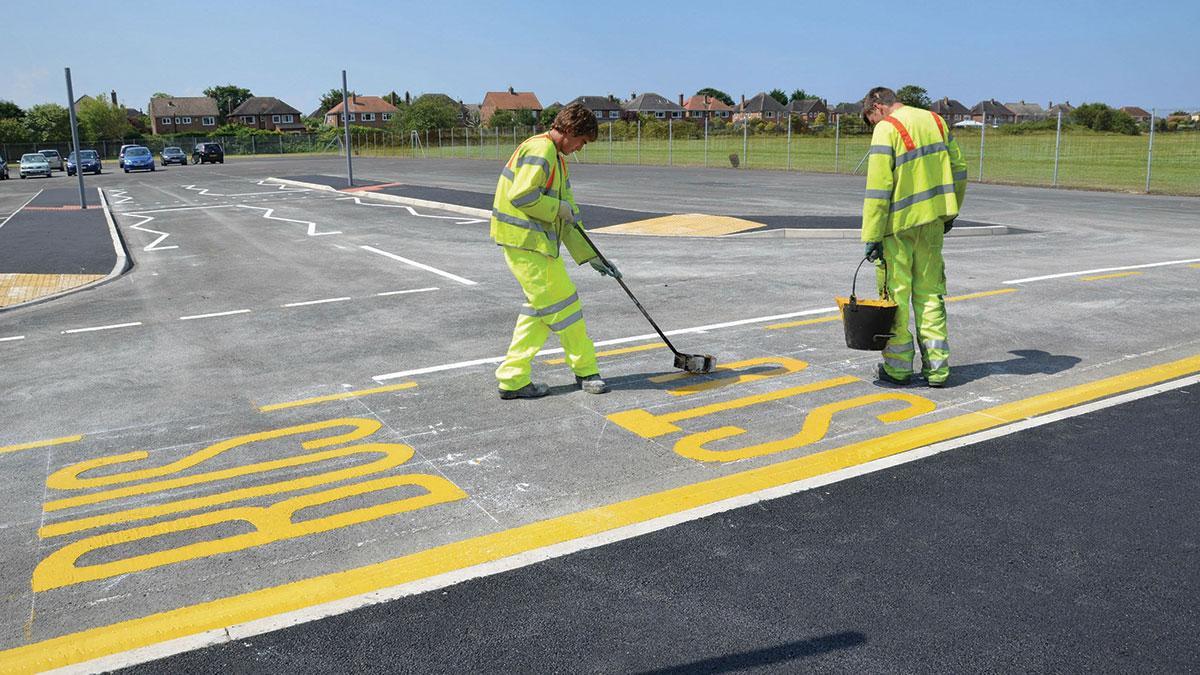 HiLine | Non-Reflective Thermoplastic Road Markings