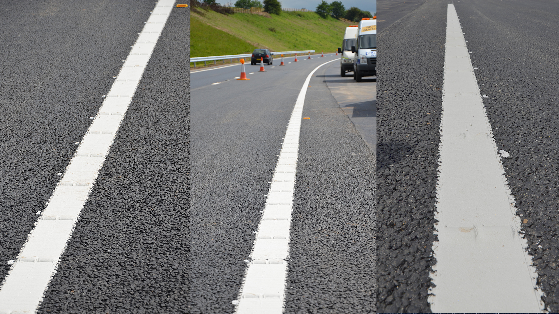 Structured Road Marking
