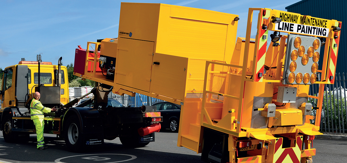 Road Marking Vehicle Builds & Trailers