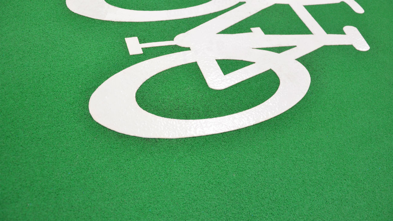 Cold Applied Cycle Path Material