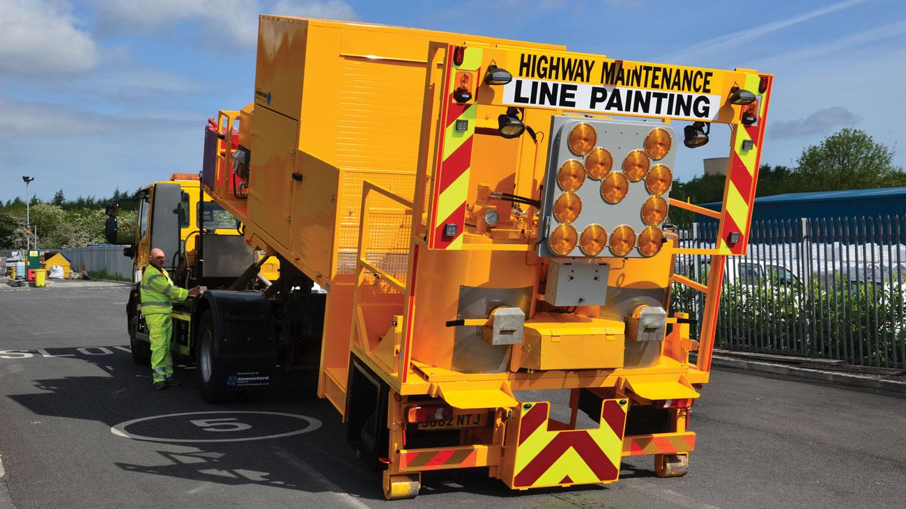 De-Mountable Road Marking Unit