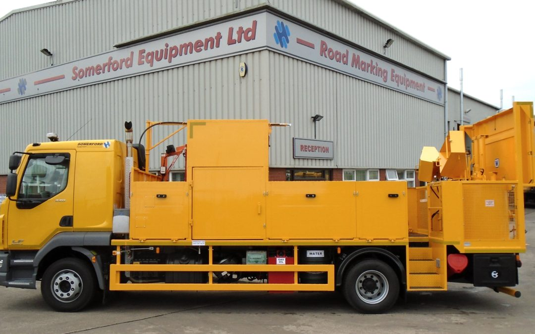 Newcastle City Council enhances maintenance productivity with new screed vehicle from Somerford Equipment