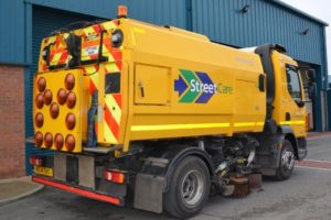 South Gloucestershire Council retrofits sweeper fleet with LED traffic control lights to increase road safety