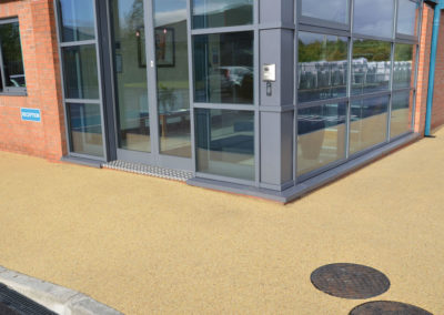 EcoSet resin bound surfacing