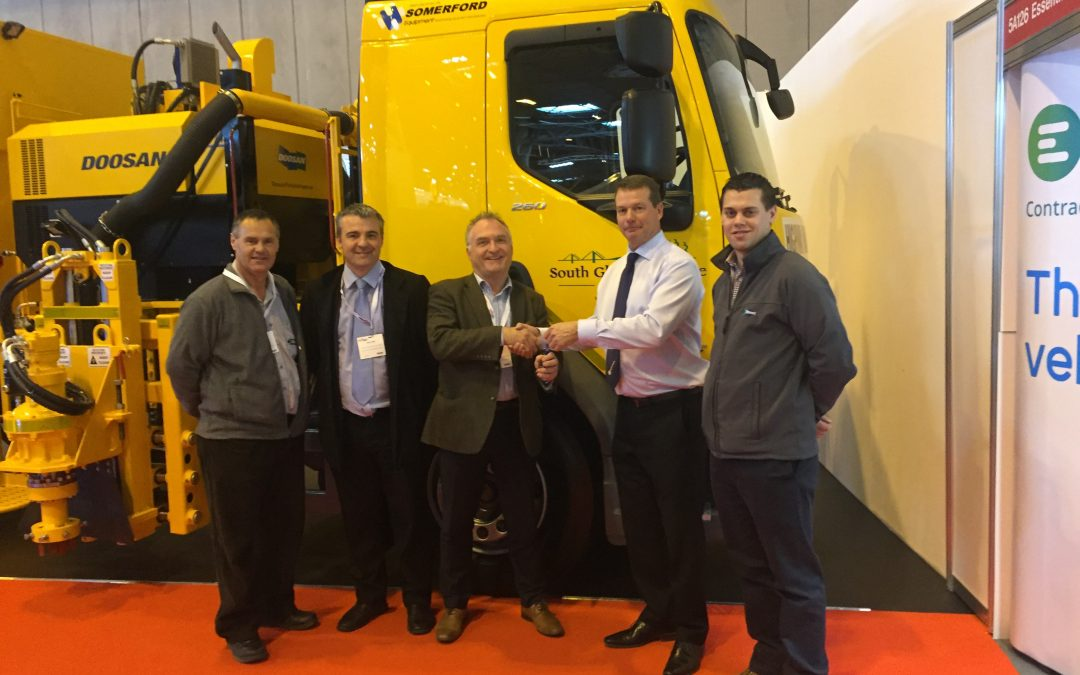 CV Show: South Gloucestershire Council takes delivery of multi-purpose road maintenance vehicle