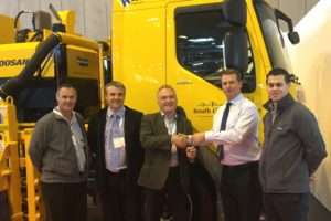 South Gloucestershire Council takes delivery of new multi-purpose road maintenance vehicle from Somerford Equipment at CV Show