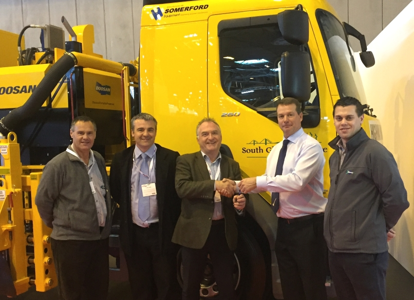 Somerford Equipment and South Gloucestershire at CV Show small