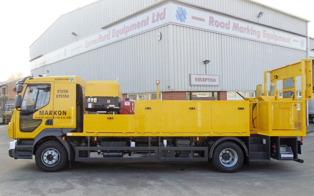 Markon Updates Highways Maintenance Fleet With Three New Somerford Screed Vehicles