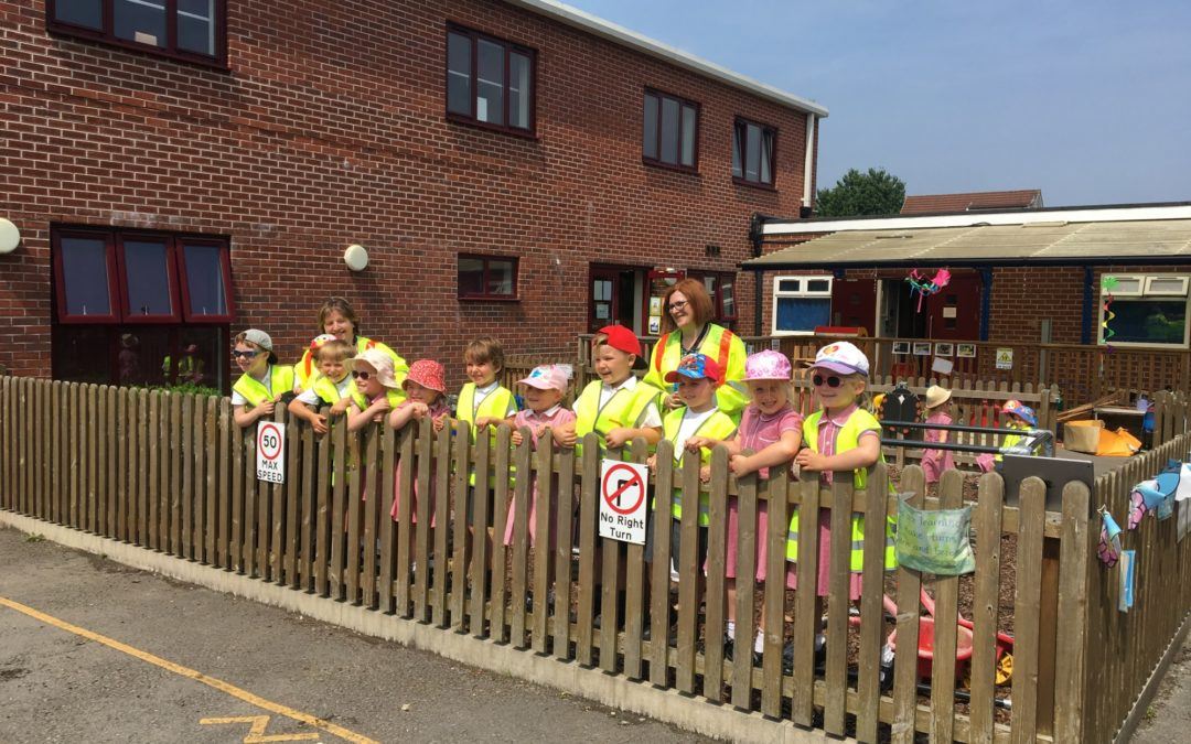 L&R Roadlines lays down the lines at English Martyrs RC Primary School