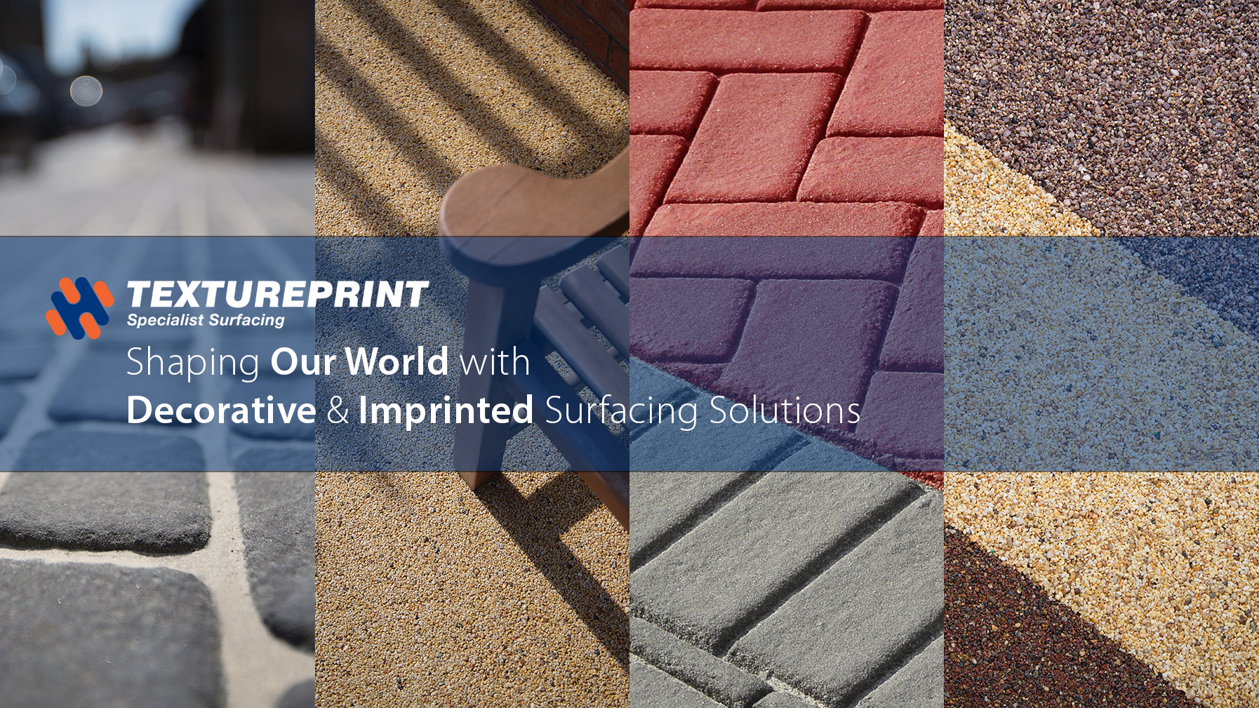 Textureprint: Specialist Imprinted & Decorative Surfacing