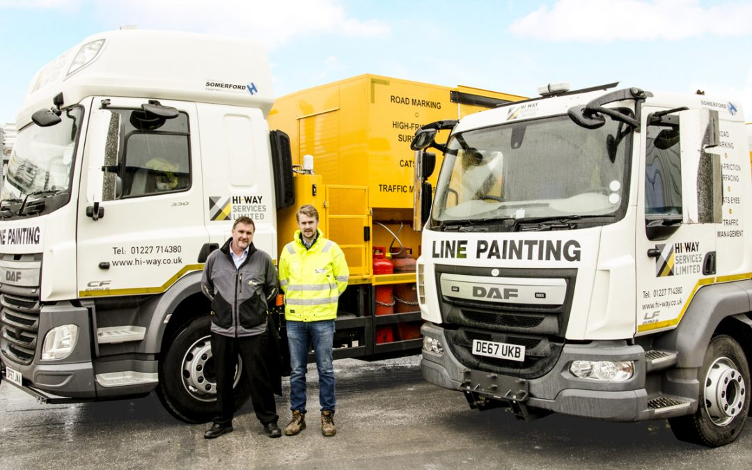Somerford Equipment Increase Hi-Way Services Fleet with Two New Road Marking Vehicles