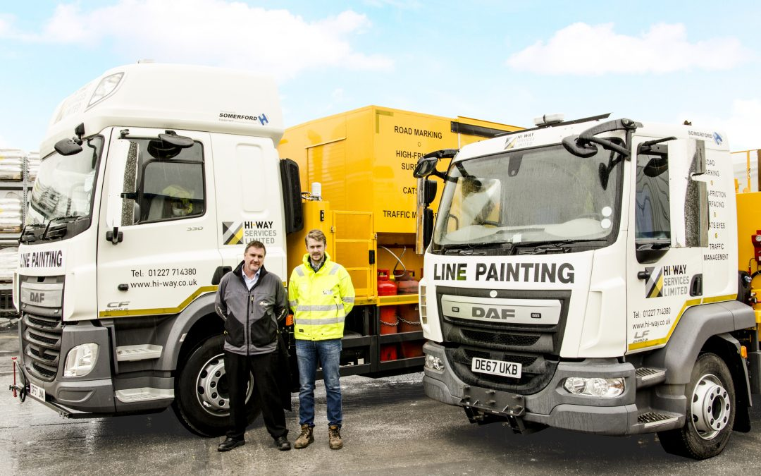 Somerford Equipment Increase Hi-Way Services Fleet with Two New Vehicles