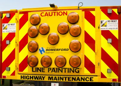 Somerford Equipment Road Marking Vehicle