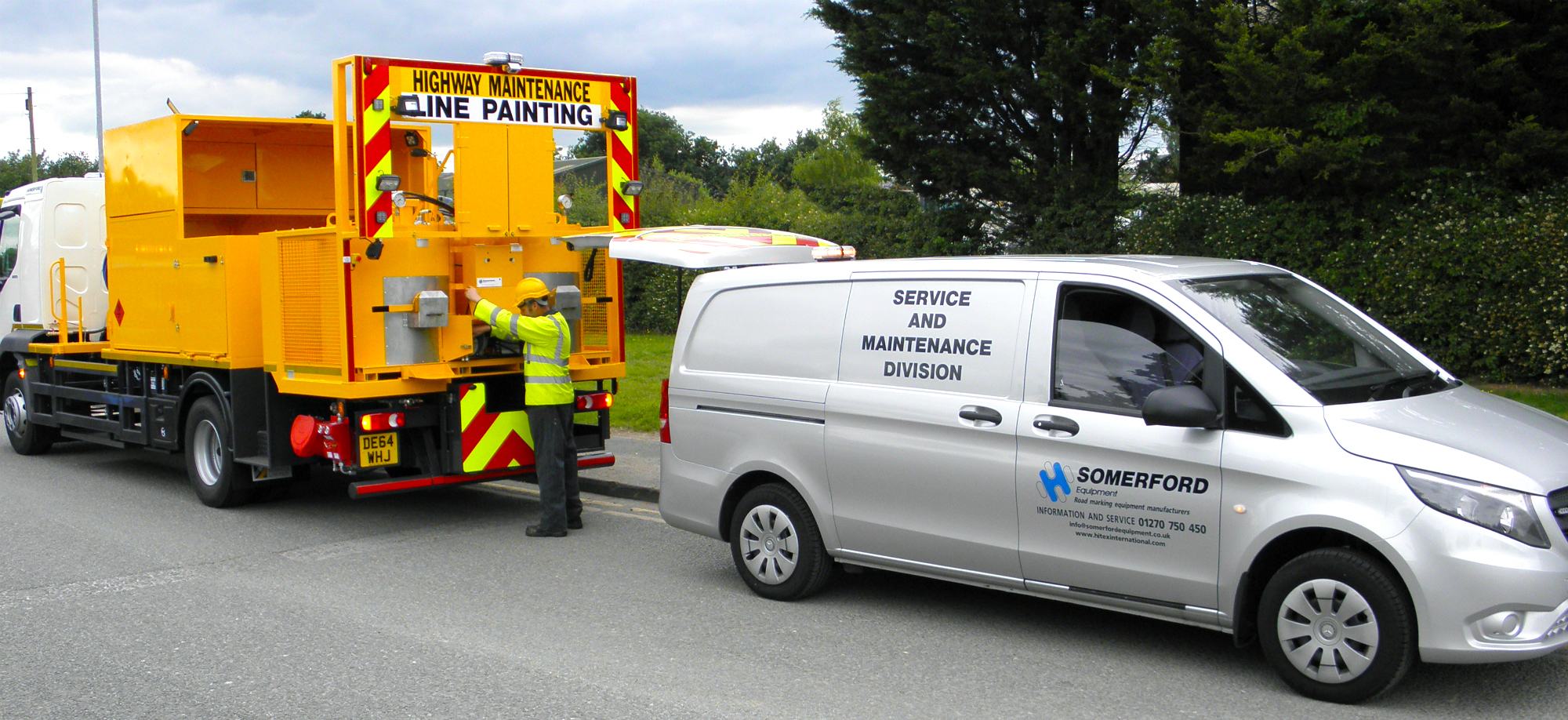 Road Marking Vehicle Servicing