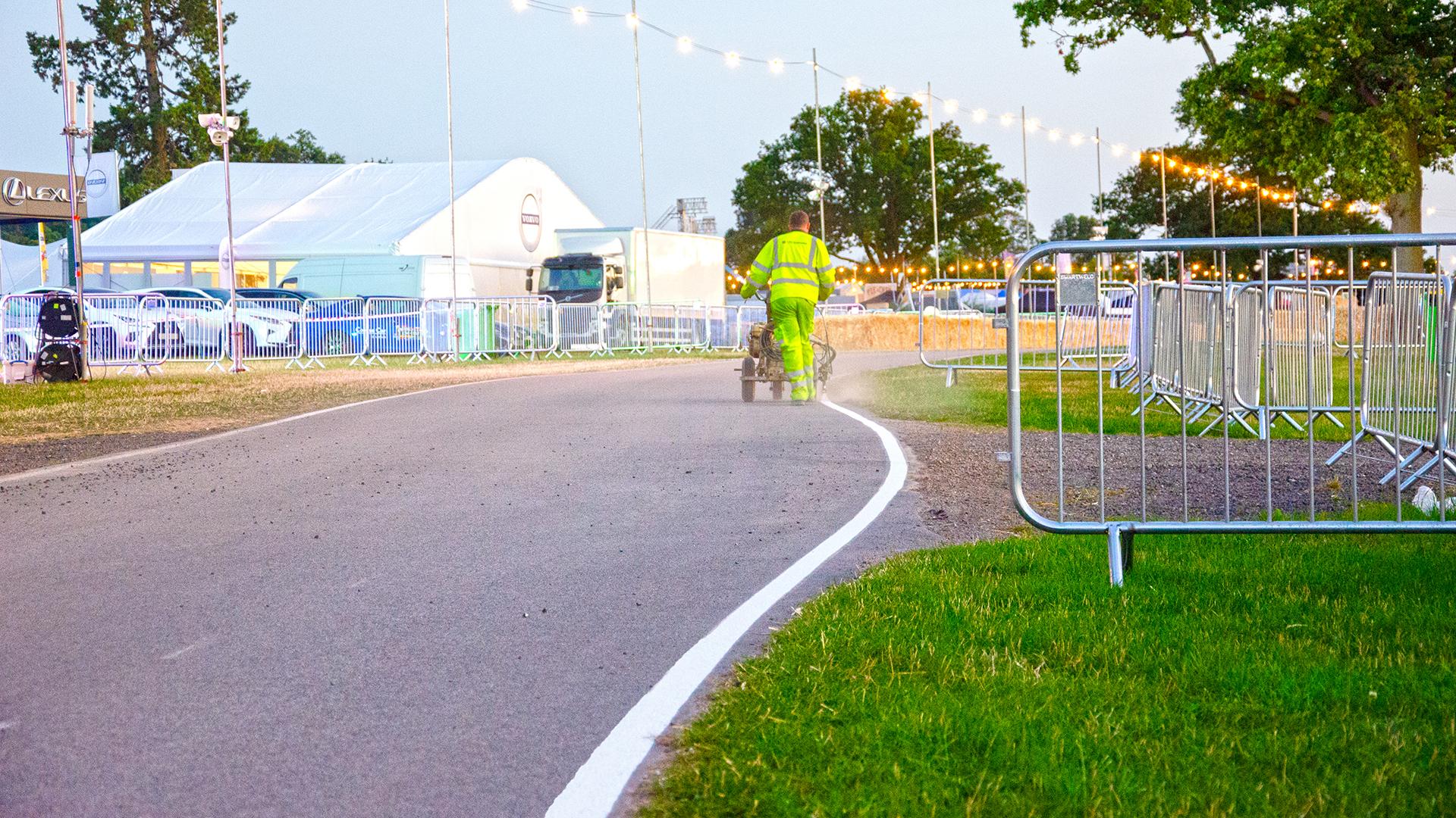 Carfest Road Marking 19