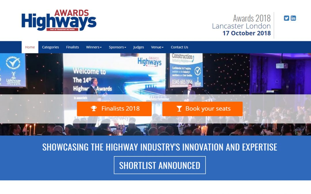 Hitex International Shortlisted for Road Industry Awards