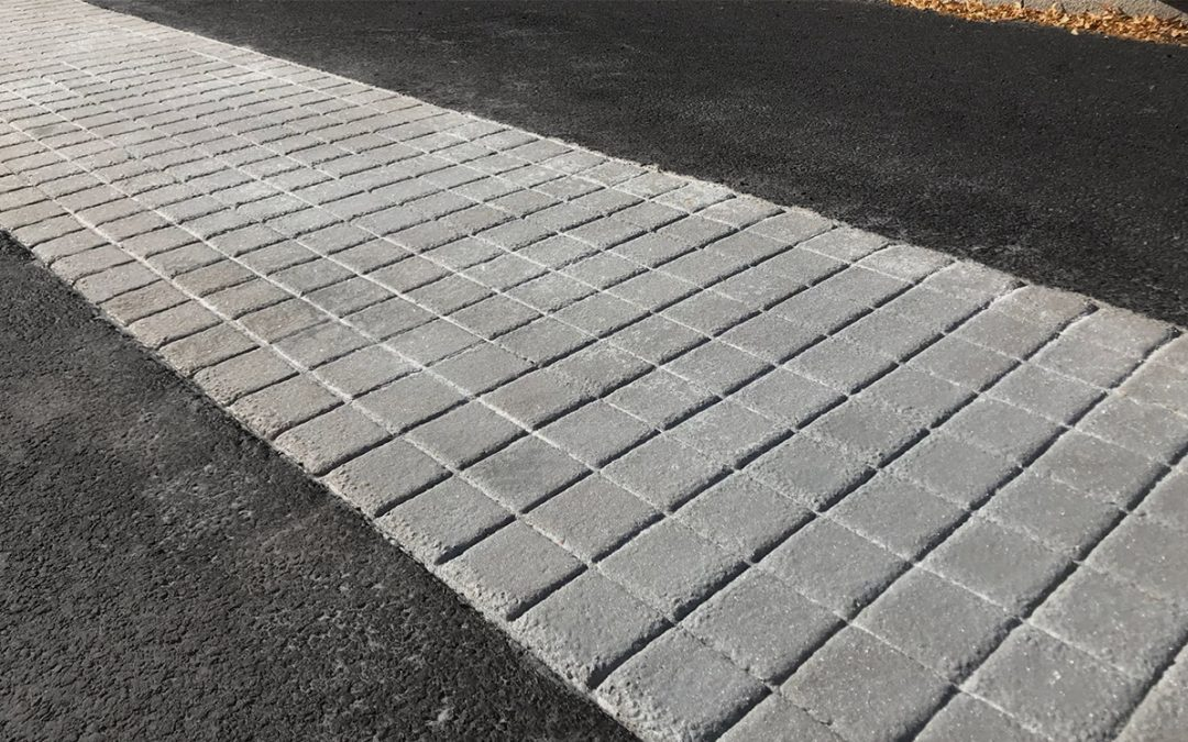 Imprinted Surfacing Used on Wales' First Bicycle Street