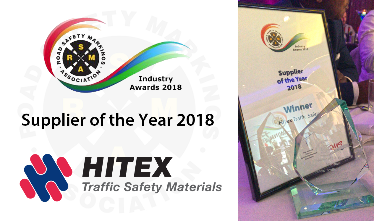 Road Marking Materials Supplier of the Year 2018
