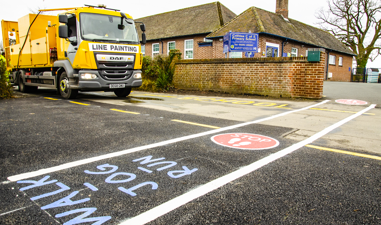 L&R Roadlines lay down the foundations for schools fitness initiative