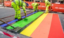 Rainbow Crossings Installed by Hitex International in Nottingham City Centre