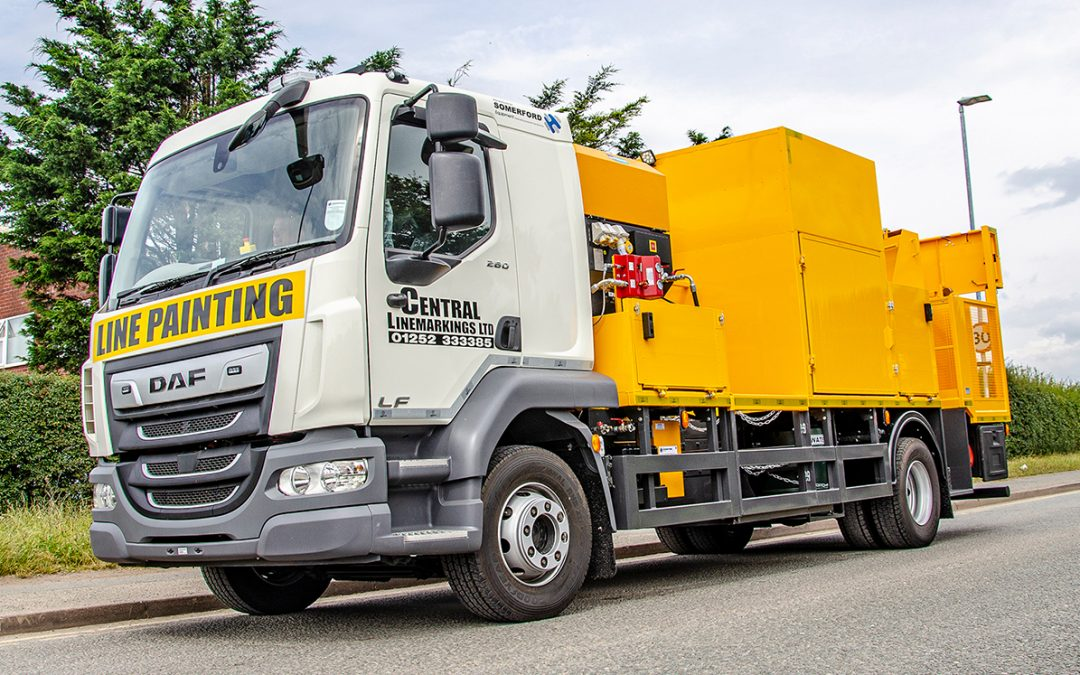 Somerford Deliver Efficient Road Marking Truck to Central Linemarkings