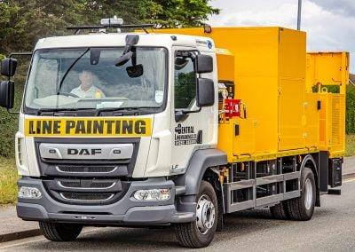 Road Marking Truck CTM