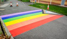 Rainbow Crossing Installed at University of the Year 2019